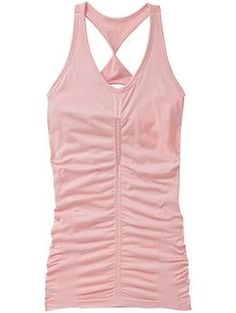 Glow Tank - The shimmery, glimmer support top with cool knit-in ventilation in our hippest length.