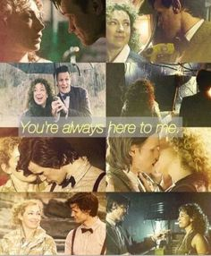 i love doctor who! The Doctor and River Song. One of my favorite fictional couples of all time. Doctor Who, Eleventh Doctor, Alex Kingston, Hello Sweetie, Fandoms, Don't Blink, Torchwood, Geronimo, Bad Wolf