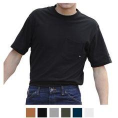 Dickies Men's Pocket Wicking Short Sleeve T Shirt WS417