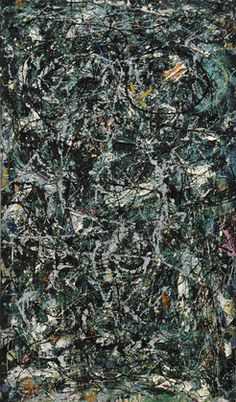 Jackson Pollock - Full Fathom Five (1947) | MoMa (New York)  Abstract expressionisme