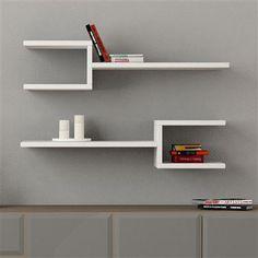 Fork Shelves, White