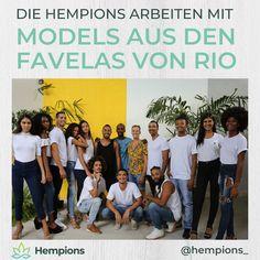 ❗Jeder hat eine Chance verdient 🚀 Junge Talente aus den Armenvierteln von Rio de Janeiro sind das Gesicht unserer Hanf Mode. 🇧🇷 Gemeinsam mit dem Projekt Favela Moda wollen wir Models aus den Favelas um den Zuckerhut die Chancen geben, international gesehen zu werden und zu wachsen. 🌱 Die erste Kollektion mit Hanf-Apparel starten wir mit Hempions Brasil Wir freuen uns schon sehr darauf, euch die ersten Teile zu präsentieren. 👕 👚 Warst du schon in einem Favela?  Interview, Champions, Models, Movie Posters, Blog, Hemp Fabric, Rio De Janeiro, Business Names, Social Causes