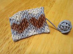 DIY: How to knit with fimo yarn! A DIY polymer clay pattern tutorial