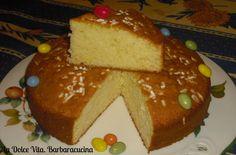 #Torta con #panna montata nell'impasto al sapore di #arancia!
