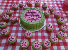 My birthday cake gluten free