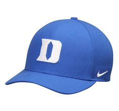 - Material: Polyester - Mid Crown - Structured fit - Curved bill - Adjustable hook and loop fastener strap - Dri-FIT ® technology wicks away moisture - One size fits most - Raised embroidery - Si Blackhawks Jerseys, Flex Fit Hats, Duke Blue Devils, Curves Workout, Alabama Crimson Tide, Fan Gear, Nike Dri Fit, Baseball Hats, Wool
