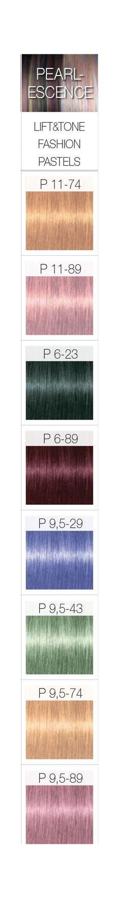Schwarzkopf Professional IGORA ROYAL PearlEscence Permanent Color Creme Shades.