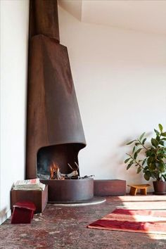 irene's space ✳ fireplace: variazioni sul tema