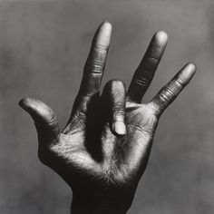 The Hand of Miles Davis by Irving Penn, 1986