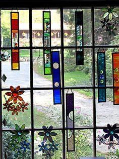 Glass Art Sculpture Modern Metropolis – Verre et de vitrailes