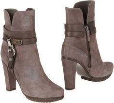 GIANCARLO PAOLI Brown Ankle Boots