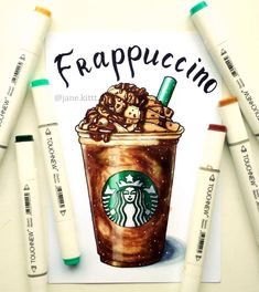 Amazing frappuccino with chocolate and nuts from Starbucks  И снова моя вторая тема для  #сочный_марафон от @svekla_art  @yana_stamo @just_do_sketch @miftvorchestvo @mpm_papers  Прозрачные стаканы с вкуснейшим кофе от Старбакса как никогда кстати подходят под вторую тему  #art #creative #instaart #artist #illustration #leuchtturm1917 #copic #touchmarker #copicart #markers #foodillustration #draw #coffee  #frappuccino #summer #рисуюназаказ #topcreator #berry #drawing #sketch #sketchbook…