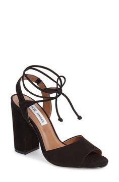 Steve Madden 'Serrina' Block Heel Lace Up Sandal (Women) available at #Nordstrom