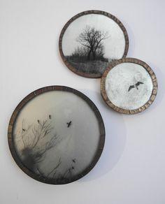 Marie Rameau - photo argentique sur plaque de verre