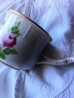 Antique hand painted porcelain cup Herend Hungary roses, antique china…