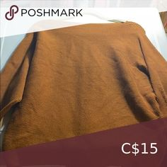 Dolman sweater Rust brown colour Nice condition. Really soft Suzy Shier Sweaters Hooded Sweater, Sweater Coats, Pink Sweater, Long Sleeve Sweater, Long Sleeve Tops, Fall Sweaters, Cable Knit Sweaters, Sparkly Shorts, Navy Blue Cardigan