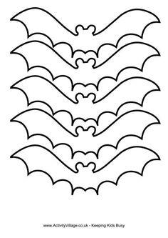 Bat template  free printable
