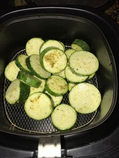 When it comes to the ample selection of summer produce out right now, let's fa… When it comes to the ample selection of summer produce out right now, let's face it, just about everything is more exciting than zucchini. Zucchini Pommes, Roast Zucchini, Zucchini Fries, Squash Fries, Air Frier Recipes, Air Fryer Oven Recipes, Air Fryer Recipes Vegetables, Air Fryer Deals, Zucchini Rounds