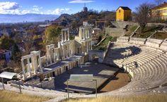 Teatro Romano, Plovdiv, Bulgária