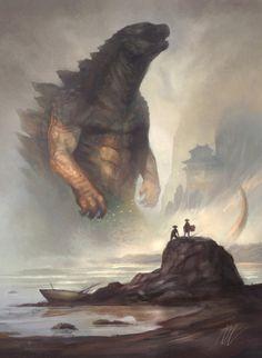 Godzilla by Joel Lee