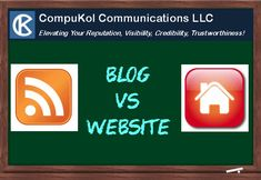 Many people have websites (for their businesses as well as for personal use) and many people have blogs. The issue is whether people truly understand the difference between a website and a blog. They certainly are not the same thing. Social Media Etiquette, Existing Customer, Web Technology, Important Facts, Helping Other People, Getting To Know You, Trust Yourself, Online Business, How To Start A Blog