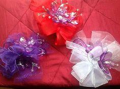 delta sigma theta centennial purple african violet corsage
