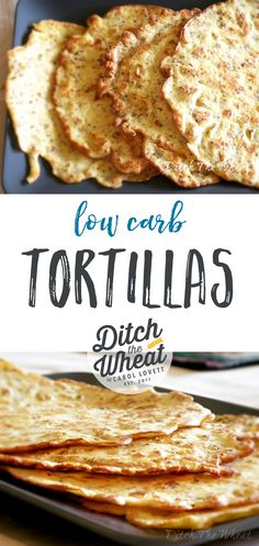 Do you miss tortillas and all the things you can make with them? I have the solution! These low carb tortillas are delicious, grain-free and best of all, easy to make!
