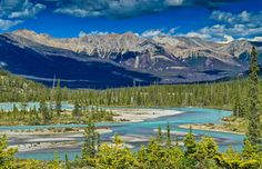 Landscape along Icefield parkway by Walter Niederbauer on 500px