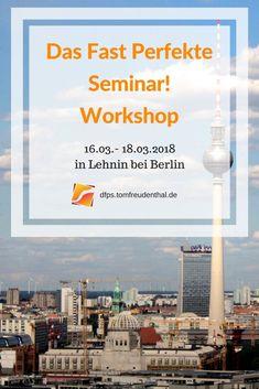 """Der """"Das Fast Perfekte Seminar"""" ist ein Wochenend-Seminar. Leere Seminarplätze füllen und Superbewertungen erreichen - darum geht's bei uns… Tipps aus der Seminarpraxis, die wirklich funktionieren#seminare#berlin#vorträge#speaker#didaktik#lernen#weiterbildung#eventberlin"""