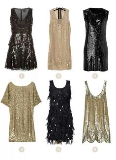 I love that the flapper style is coming back!!! New years for sure!!!