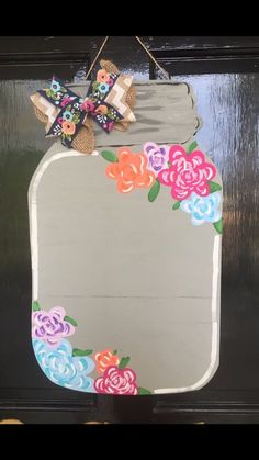 Letter Door Hangers, Cross Door Hangers, Fall Door Hangers, Burlap Door Hangers, Door Hanger Template, Painted Mason Jars, Burlap Mason Jars, Wooden Doors, Wooden Signs