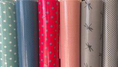 boutique en ligne tissu enduits, créations textiles, objet, vaisselle rice, - Les Carollaises, tissu enduit au mètre pour nappe ou création,...