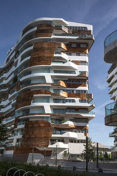 "Zaha Hadid and Daniel Libeskind build a community of 650 homes in Milan with an ""intense urban horizon."" via @dezeen"