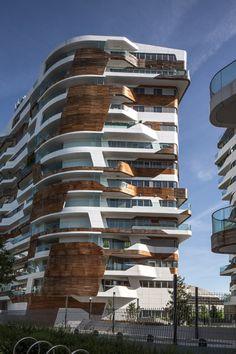 "Zaha Hadid and Daniel Libeskind build a community of 650 homes in Milan with an ""intense urban horizon."" via @dezeen"