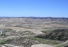 Los Monegros es una comarca aragonesa (España) dividida entre las provincias de Zaragoza y Huesca. Su capital es Sariñena. Es una área con un clima semi-desértico que sufre sequías crónicas.