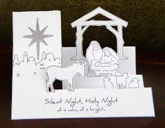 Pop-Up Nativity Christmas Card        Here is is all done.. = )        here is the...