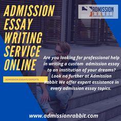 Med school admission essay