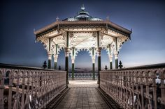 The bandstand at Brighton Beach.