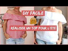 | TUTORIEL # 2 | Top en tissu  africain wax avec manches, doublure et zip | - YouTube