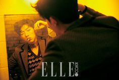"""Lee Jung Shin (CN Blue) is gearing up for his next drama, tvN's """"Cinderella & Four Knights"""" but popped by Elle for what is definitely not one of his best pictorials. Cnblue, Kang Min Hyuk, Lee Jong Hyun, Jung Yong Hwa, Lee Jung, Cinderella And Four Knights, Elle Magazine, Jonghyun, Instagram Fashion"""