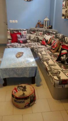 Μαξιλαρια χτιστου καναπε.. Gift Wrapping, Bed, Fabric, Gifts, Furniture, Home Decor, Gift Wrapping Paper, Tejido, Tela