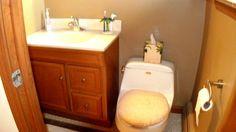 Master bedroom has a 1/2 bath and walk in closet