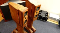 レイオーディオ K-Monitor KM1V-M & KS1V モニタースピーカー Audio Design, Monitor, Home