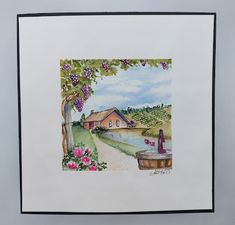 Garden Wagon, Tombow Markers, Art Impressions Stamps, New Bible, Decorated Jars, Get Well Cards, Nature Scenes, Love Flowers, Amazing Nature