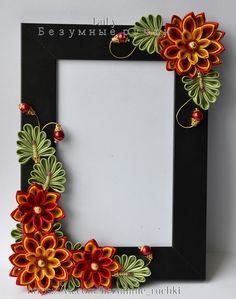 Photo Paper Quilling Flowers, Paper Quilling Patterns, Quilled Paper Art, Quilling Paper Craft, Kanzashi Flowers, Paper Crafts, Ribbon Art, Ribbon Crafts, L'art Du Ruban