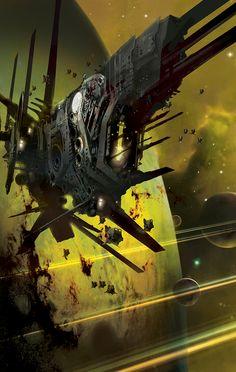Book Covers Space Fantasy, Sci Fi Fantasy, Concept Ships, Concept Art, Spaceship Concept, Cosmos, No Man's Sky, Sci Fi Ships, Futuristic Art