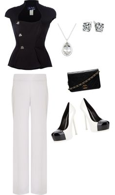 """Olivia Pope style"" by brooke-summers on Polyvore"