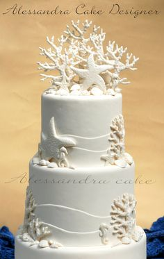 Sea  Wedding Cake .