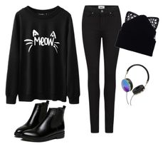 """Untitled #53"" by teodora-lipovan on Polyvore featuring Paige Denim, Silver Spoon Attire and Frends"