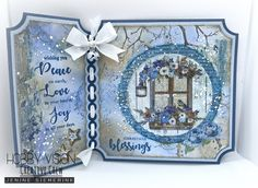 Christmas Blessings, Christmas Tag, Xmas, Marianne Design Cards, Peace On Earth, Studio Lighting, Winter Cards, Card Sketches, Making Ideas